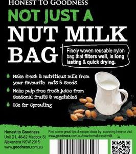 Not just a nut milk bag