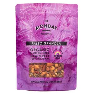 Macadamia and Cranberry Granola 300g