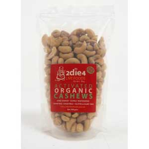 2die4 Live Foods Activated Organic Cashews