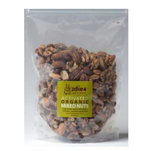 2die4 Live Foods Activated Organic Mixed Nuts