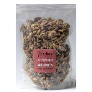 2die4 Live Foods Activated Organic Walnuts
