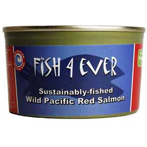 Fish 4 Ever Wild Pacific Red Salmon