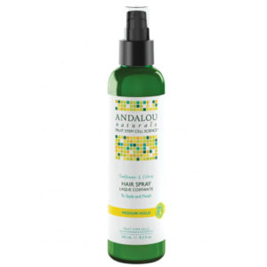 Andalou Naturals Sunflower and Citrus Brilliant Shine Hair Spray