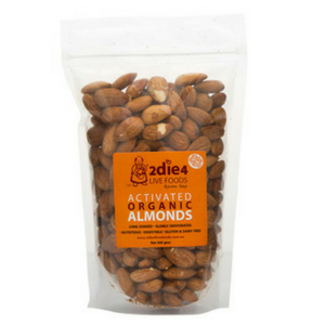 2 Die 4 Live Foods Activated Organic Almonds