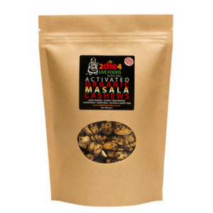 2 Die 4 Live Foods Activated Organic Masala Cashews