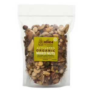 2 Die 4 Live Foods Activated Organic Mixed Nuts