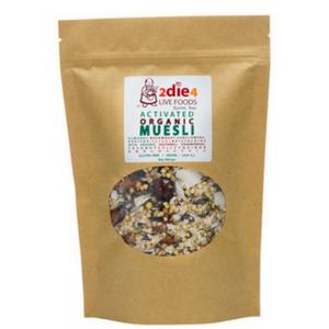 2 Die 4 Live Foods Activated Organic Muesli