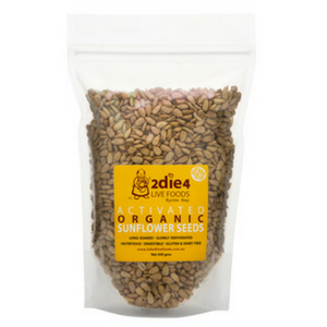 2 Die 4 Live Foods Activated Organically Grown Sunflower Seeds