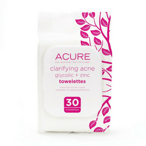Acure Clarifying Acne Towelettes