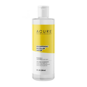 Acure Brilliantly Brightening Micellar Water.