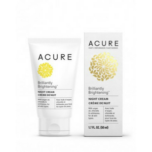 Acure Brilliantly Brightening Night Cream