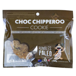 Rumbles Paleo Choc Chipperoo Cookie