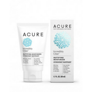 Acure Incredibly Clear Mattifying Moisturiser