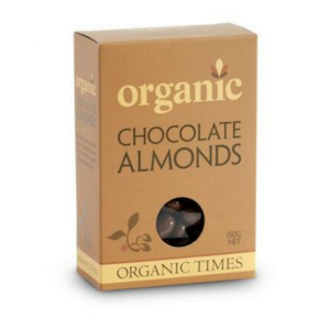 Organic Times Milk Chocolate Almonds