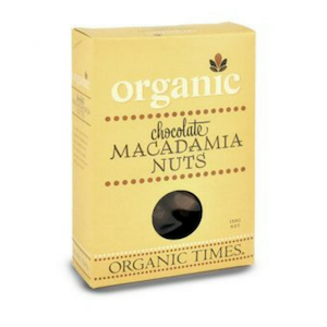 Organic Times Milk Chocoalte Macadamia Nuts