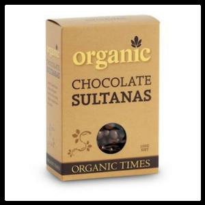 Organic Times Milk Chocolate Sultanas