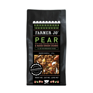 Farmer Jo Pear with Roasted Pecan Granola