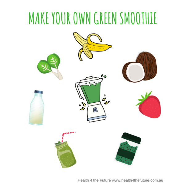 H4TF Make Your Own Green Smoothie