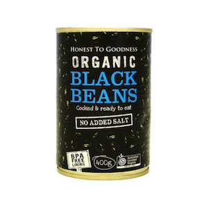 Honest to Goodness Black Beans
