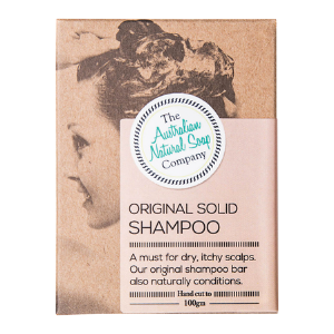 The Australian Natural Soap Company Original Solid Shampoo Bar