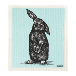 RetroKitchen Compostable Sponge Cloth - Rabbit