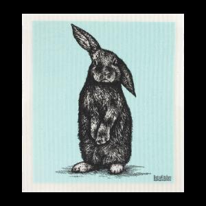 RetroKitchen Compostable Sponge Cloth - Rabbit